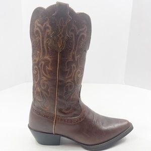Justin Stampede Women's McKayla Cowgirl Boots